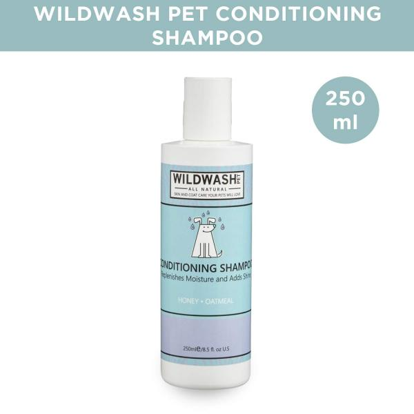 WildWash Pet Conditioning Shampoo 250ml for dogs and cats