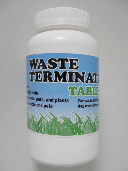 Waste Terminator tablets (tub of 100) for use in all Doggie Dooley systems